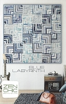 Blue Labyrinth Quilt Pattern